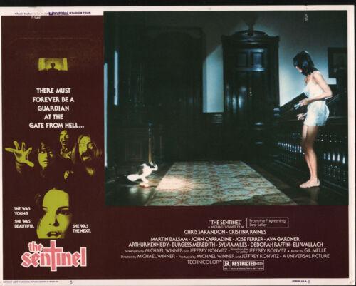 THE SENTINEL original 1977 lobby card CHRISTINA RAINES 11x14 movie poster