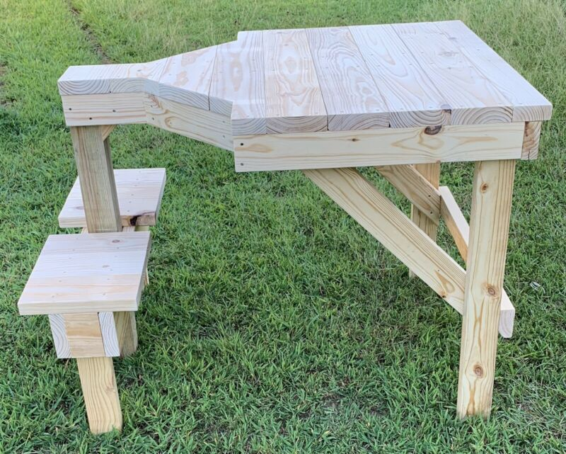 Wooden Shooting Bench (Build Plans)