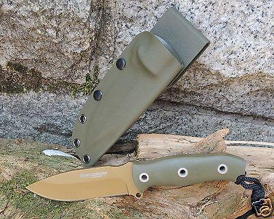 """Böker Magnum Messer """" Golf Tango """" Outdoormesser 5,3 mm stark 440 Stahl 02SC647"""