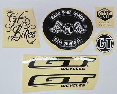 GT Bmx Vélo Autocollant//Autocollant 2 X 5.75