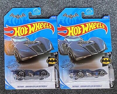 Hot Wheels Treasure Hunt 2020 Arkham Asylum Batmobile Lot of 2