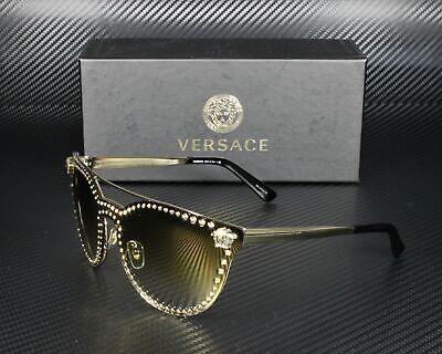Versace VE2177 12526U PALE GOLD LNT PA B6 589+ FLASH ORO 45 mm Womens (Cheap Versace Shades)