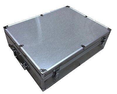 Aluminum Storage Holder (Storage & Display Aluminum Frame Box Case Holds 100 PCGS NGC Coin Holders Slabs )