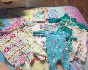 Mixed baby girl lot 3-6m