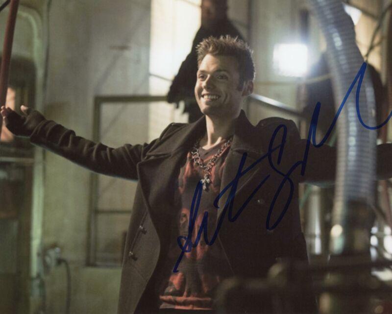 "Seth Gabel ""Arrow"" AUTOGRAPH Signed 8x10 Photo B"