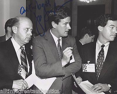 Morning Joe Tv Host Joe Scarborough Signed 8X10 Photo W Coa B Msnbc Congressman