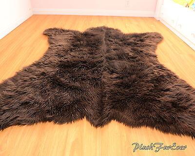 Fur Decors 5' x 6' New Bearskin ...