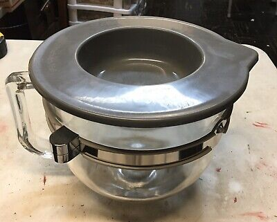 KitchenAid 6 Quart Glass Mixing Bowl for Bowl-lift Stand Mixers New Out Of Box