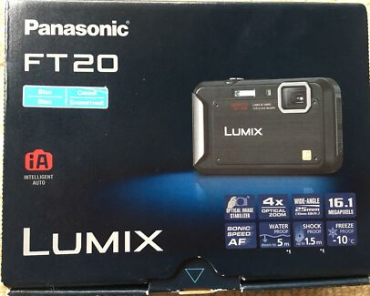 Panasonic LUMIX Underwater camera FT20