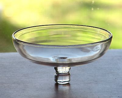 Cambridge Glass ARMS Crystal Clear Peg Nappy for Epergne