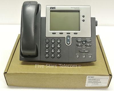 Cisco 7940G IP VoIP Telephone Phone 7940 (CP-7940G) - SCCP SKINNY