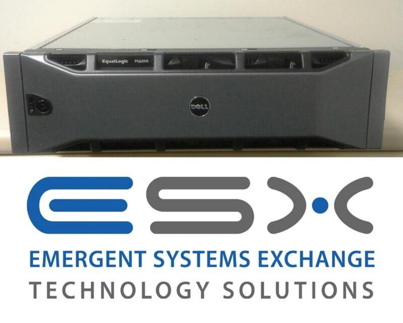Dell Equallogic Ps6010e 16 X 2tb 7.2k Sata Hd Iscsi San Storage System