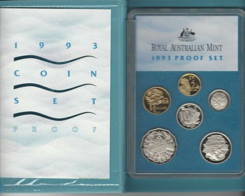 "1993 AUSTRALIA PROOF SET ""WATER"""