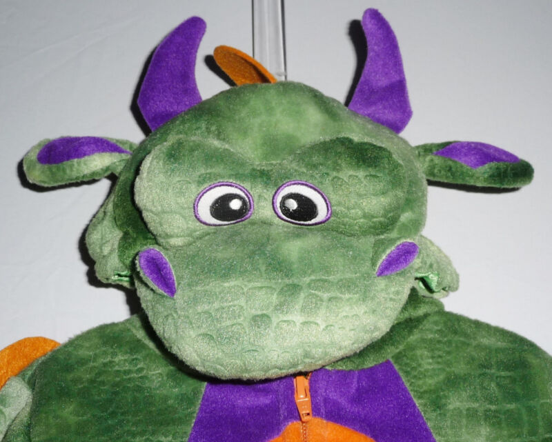 Green Dragon Plush Hooded Halloween Costume 18 Mo Toddler Koala Kids Geoffrey