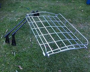 Vintage  steel luggage roof rack Pennant Hills Hornsby Area Preview