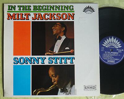In The Beginning Milt Jackson Sonny Stitt LP 12` Vinyl America Records – 6072