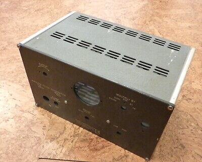 Aluminum Project Box Electronic Enclosure Chassis Case Us Amp General Radio Tube
