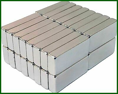 30 Pack Strong Neodymium Rare Earth Bar Magnets 1663mm. For Office Classroom