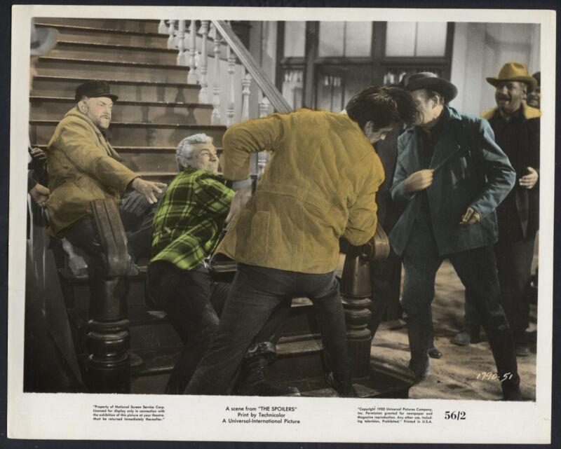 The Spoilers '56 RORY CALHOUN JEFF CHANDLER JOHN McINTIRE COLOURED WESTERN