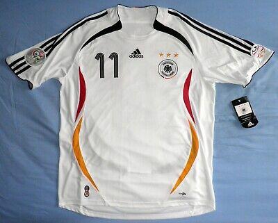 ALEMANIA camiseta Adidas Mundial 2006 BNWT maillot shirt NEW jersey trikot KLOSE