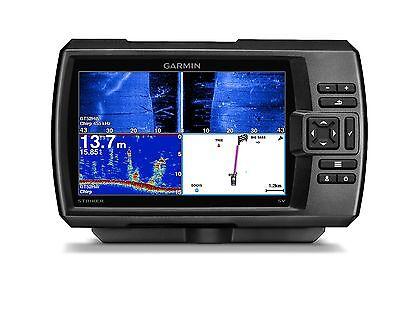 "Garmin STRIKER 7sv Fishfinder 7"" LCD, GPS, Side/ClearVu CHIRP Sonar 010-01809-00"