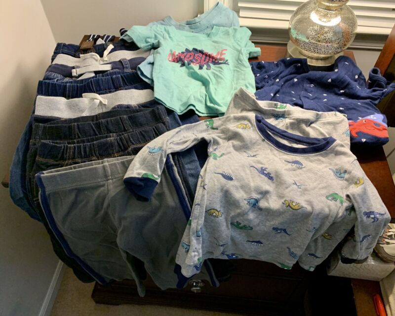 24 Month Baby Boys Clothing Lot 13 Pieces