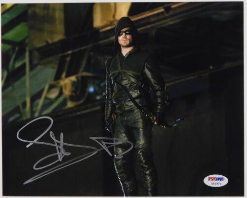 Stephen Amell Arrow TV Show Signed Autogragh PSA COA 8 x 10 photo