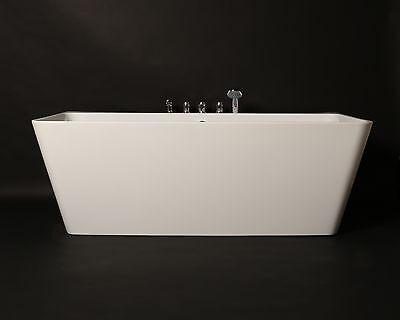 kokss Iseo Acrylic Soaking Bathtub Freestanding &  Tub Filler Faucet NEW 2016