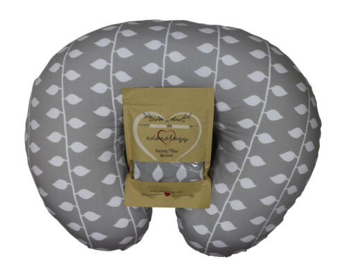 Adorology Organic Nursing Pillow Cover Slipcover Girls Boys Baby Shower Gift