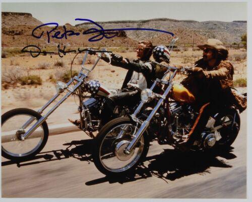 Easy Rider Peter Fonda Dennis Hopper JSA Signed Autograph 8 x 10