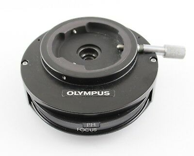 Olympus Microscope Magnification Changer 1x 1.25x 1.5x Phase Bertrand Lens Bh2