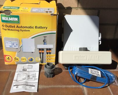 Holman pro444 4 outlet automatic battery tap watering system Kewdale Belmont Area Preview
