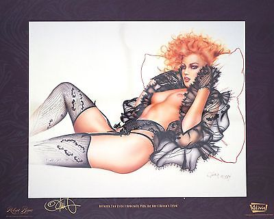 Lot Of Olivia Prints Signed By Artist And Model Assoass 1