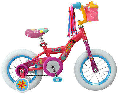 Nickelodeon Sunny Day kids bike 12-inch wheels training wheels Girls Boys Pink