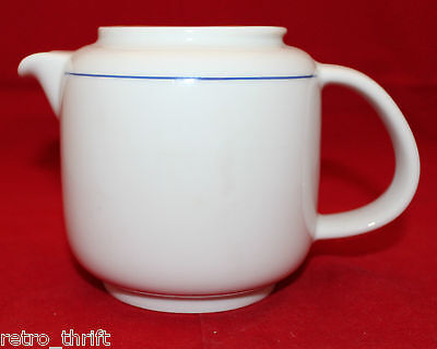 Richard Ginori Porcelain Blue White Coffee Tea Pot No Lid Replacement Italy 223
