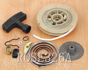 Recoil Starter Pull Start Kit for Yamaha Kodiak Bruin Grizzly 350 400 450 660