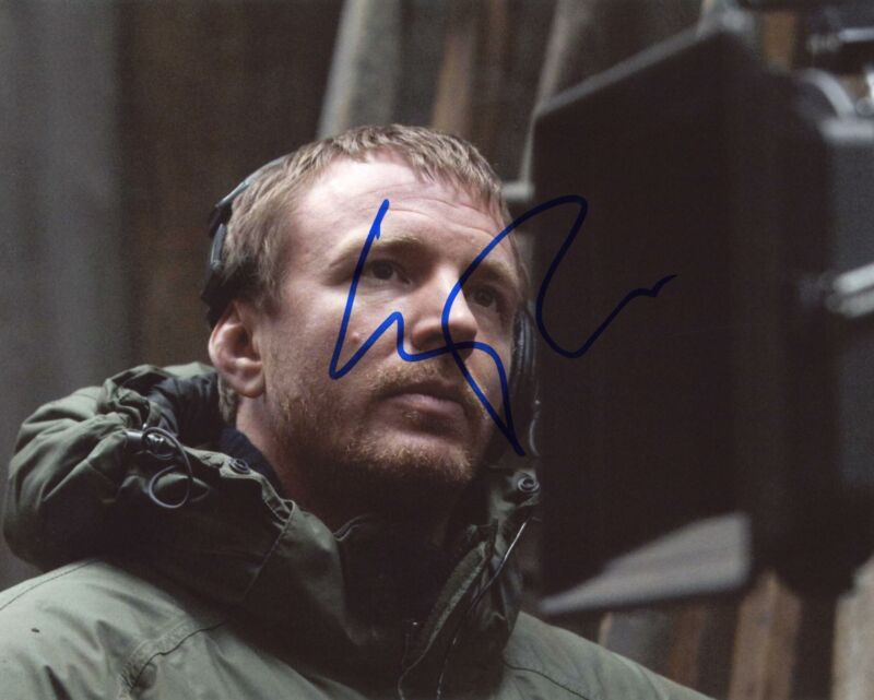"Guy Ritchie ""Sherlock Holmes"" Director AUTOGRAPH Signed 8x10 Photo"