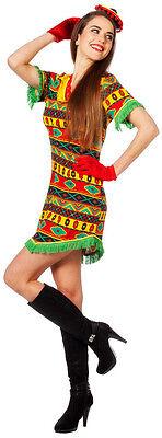 Penelope Bandita Mexikanerin Kostüm NEU - Damen Karneval Fasching Verkleidung Ko