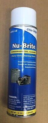 Nucalgon Nu-brite Condenser Coil Cleaner 18oz Aerosol 4291-18