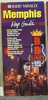 1998 Rand McNally Memphis Map Guide