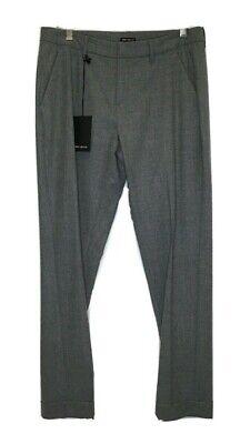 Iris Von Arnim Grey Wool Pants Size 6