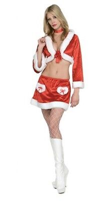 Lady Santa Costume Sexy CHRISTMAS COOKIE Outfit Top - Lady Santa Outfit