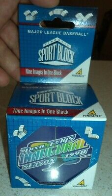 1998 Inaugural Season Tampa Bay Devil Rays MLB Pinnacle Sport Block