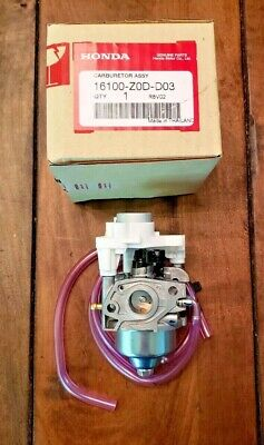 New Genuine Honda Carburetor Assembly Carb Eu2000i Generator 16100-z0d-d03 Oem