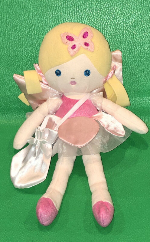 Baby Ganz Girl Stuffed Toy Tooth Fairy Doll Simple Sweet 12in BG3999