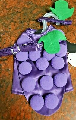 Dog costume GRAPES HARNESS  by DOGGIE DESIGN, halloween, made in USA](Halloween Costume Grapes)
