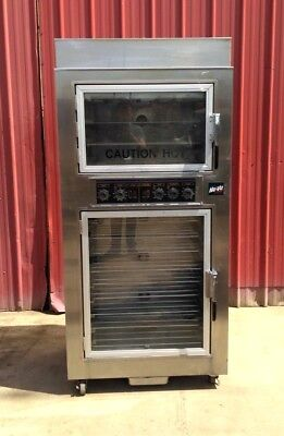 Nu-vu Sub-123 Electric Proofer Warmer Convection Oven 208v 3-phase