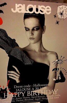JALOUSE* n°206 du 29/10/2017**Dress code:HALLOWEEN**Camille Rowe,Jeanne Damas... (Dress Code Halloween)