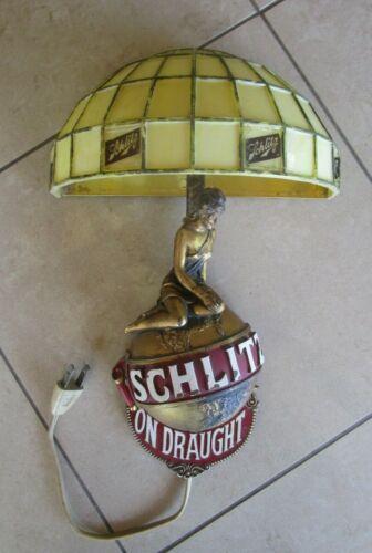 Vintage 1971 Schiltz Beer Wall Mounted Bar Light
