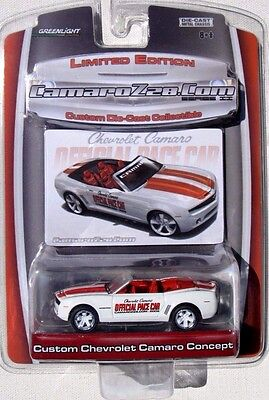 Greenlight Camaro Z28 Com 2008 Chevrolet Camaro Offical Pace Car Limited Edition